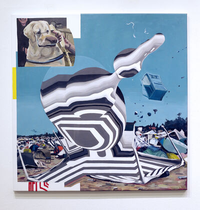 Lars Wunderlich, 'Hello', 2019