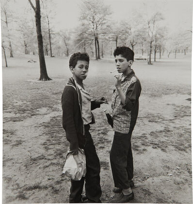 Diane Arbus, 'Two boys smoking in Central Park, N.Y.C.', 1963