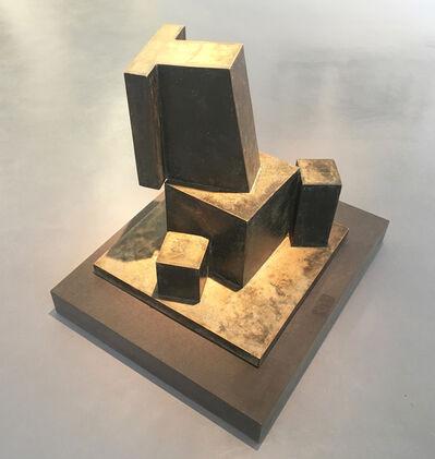 Anton Hiller, 'Sitzende Figur', 1972