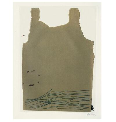 Antoni Tàpies, 'Aparicions-6', 1982