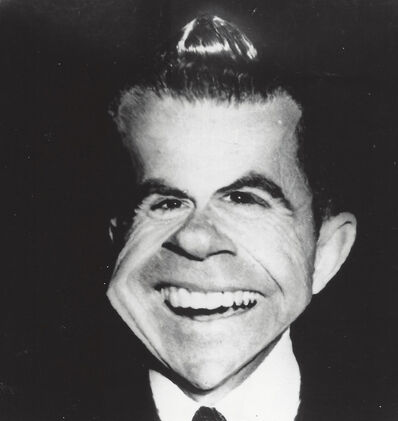 Weegee, 'Richard Milhous Nixon (distortion)', 1961