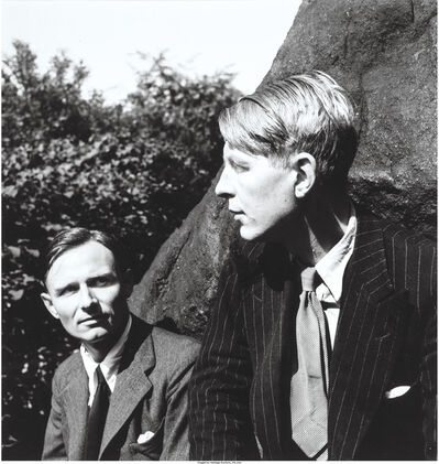 Louise Dahl-Wolfe, 'Christopher Isherwood and W.H. Auden in Central Park, N.Y', 1938