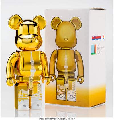 BE@RBRICK, 'Tokyo Skytree Town 400% (Gold)', 2015