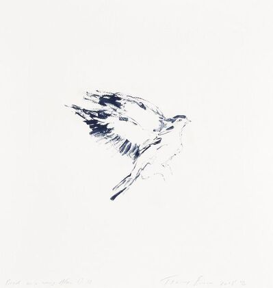 Tracey Emin, 'Bird on a Wing After D.B', 2018