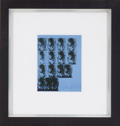 Andy Warhol, 'Blue Liz as Cleopatra', 1986