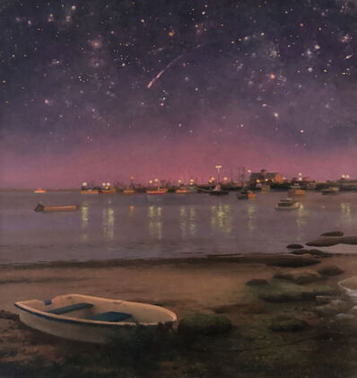 Scott Prior, 'Evening, Provincetown Harbor', 2019
