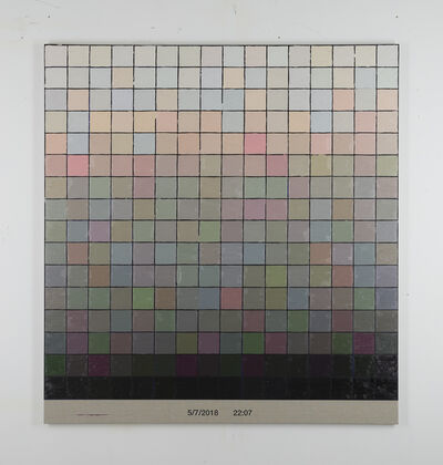 Stijn Cole, 'Colorscape 5 juli 22:07', 2018