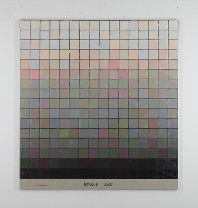 Stijn Cole, 'Colorscape 5 juli 22:07', 2018