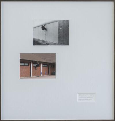 """Wermke/Leinkauf, 'Überwindungsübungen """"Seil mit Schlingen"""" / """"Aldi""""', 2018"""