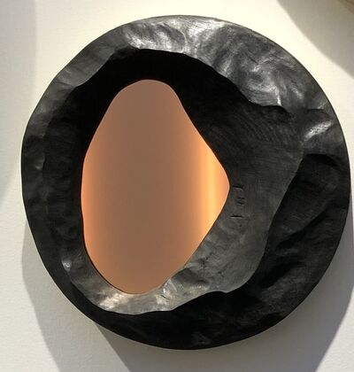Onno Adriaanse, 'Delta Mirror - Volcanic Lake', 2019