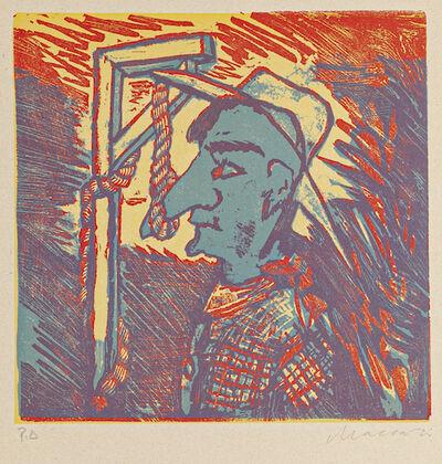 Mino Maccari, 'Figure', 1950