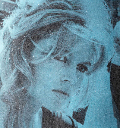 David Studwell, 'Brigitte Bardot, Powder Blue', 2017-2019