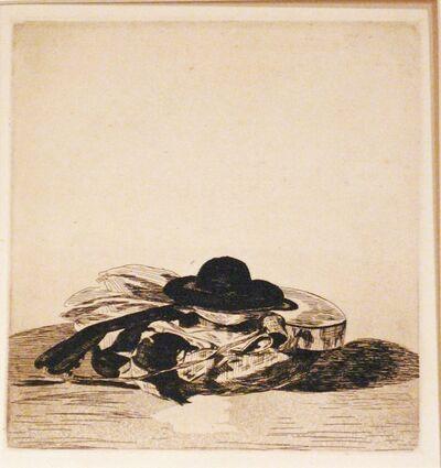 Édouard Manet, 'CHAPEAU ET GUITARE ', 1874