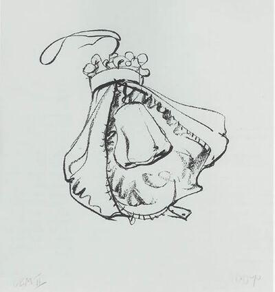 Claes Oldenburg, 'Double-Nose Purse Punching Bag', 1970