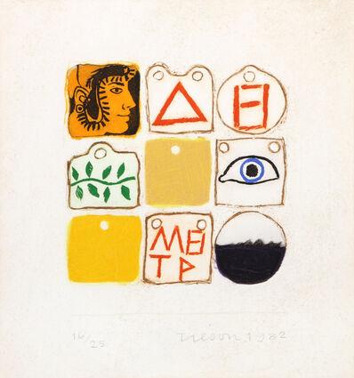 Joe Tilson, 'Senza Titolo', 1982