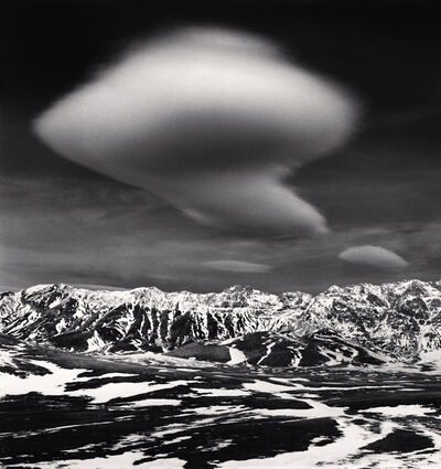 Michael Kenna, 'Curious Cloud, Campo Imperatore, Abruzzo, Italy', 2016