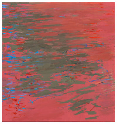 Uwe Kowski, 'roter Platz', 2019