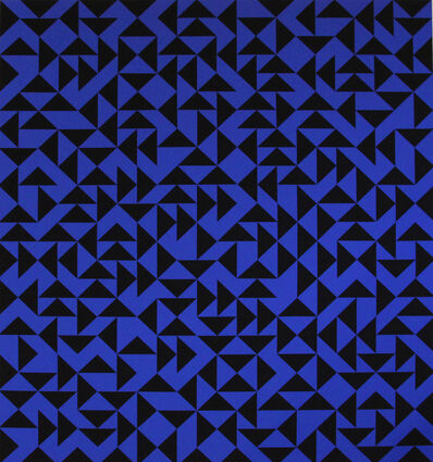 Anni Albers, 'Intaglio with Triangles Album Exacta 105/125', 1973