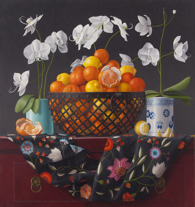 James Aponovich, 'Still Life with Orchids', 2016