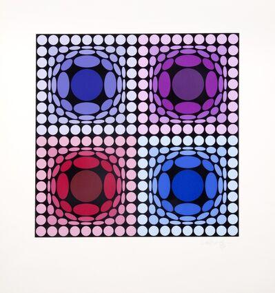 Victor Vasarely, 'Stri-arch', 1977