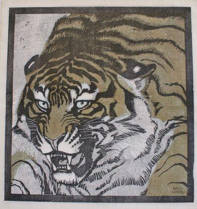 Ludwig Heinrich Jungnickel, 'Tiger Head', 1909