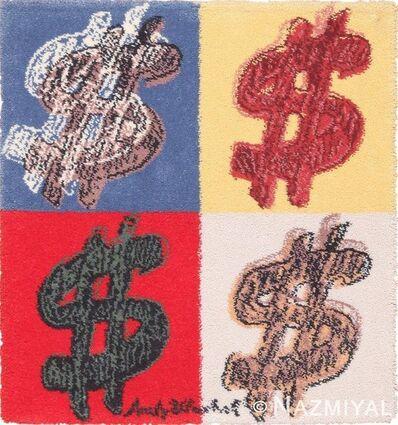 Andy Warhol, 'Vintage Scandinavian Andy Warhol Dollar Sign Pop Art Rug', 1980-1996