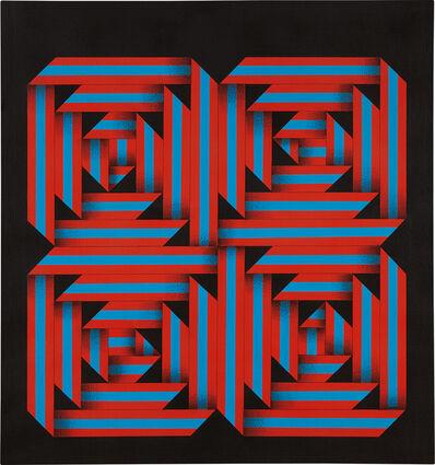 Omar Rayo, 'Anatomy of Fall', 1964