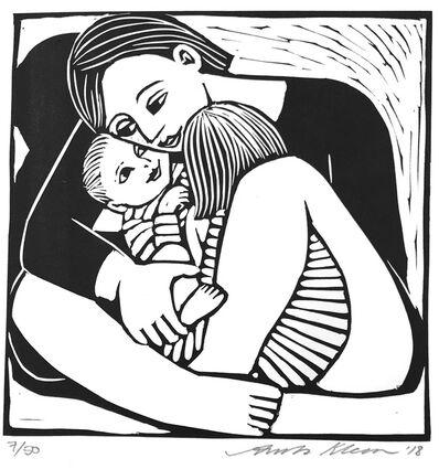 Anita Klein PPRE, 'Mother & Two Children', 2018