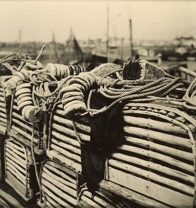 Ralston Crawford, 'Lobster Pots with Rope, Croix-de-Vie', 1957