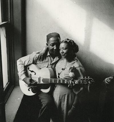 Art Shay, 'Muddy Water and his wife, Geneva', 1950