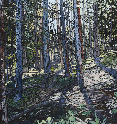 Deb Komitor, 'Retreating to the Forest Floor', 2020