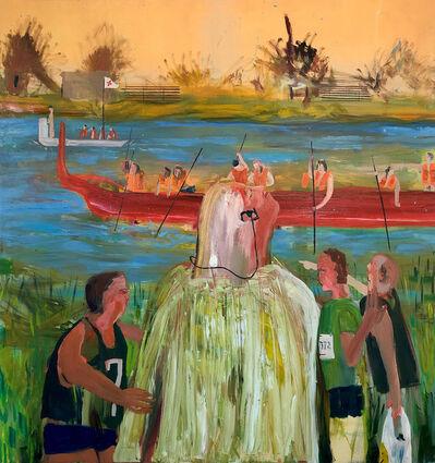 Grace Metzler, 'Sundee on the Schuylkill', 2021