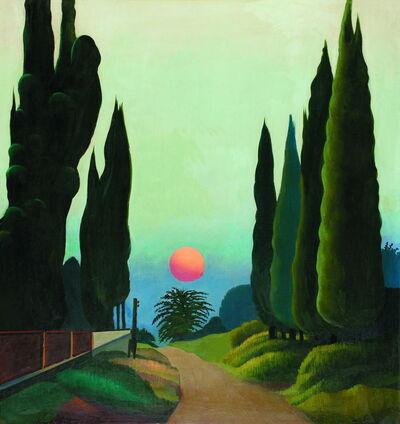 Otar Chkhartishvili, 'Cypresses', 1985