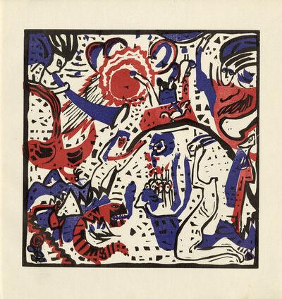 Wassily Kandinsky, 'Grosse Auferstehung', 1911