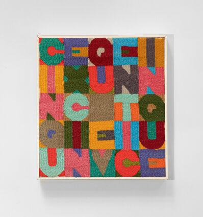 Alighiero Boetti, 'Cinque x cinque venticinque', 1986