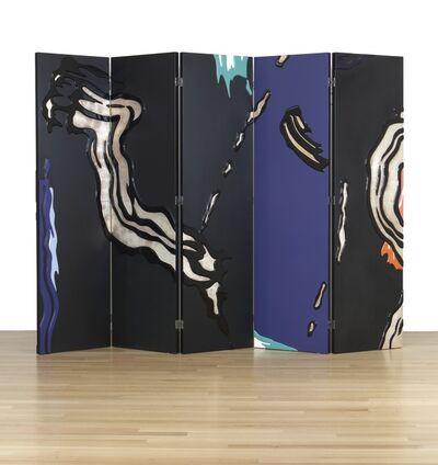 Roy Lichtenstein, 'Screen with Brushstrokes', 1986