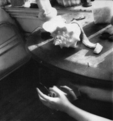 Francesca Woodman, 'But lately I find a silver mirror is simply to slice an eye lid', 1979