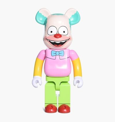 BE@RBRICK, 'The Simpsons Krusty 1000%', 2016