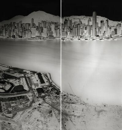Shi Guorui, 'To see Hong Kong Island from Kowloon 19-20 July 2016 (diptych)', 2016