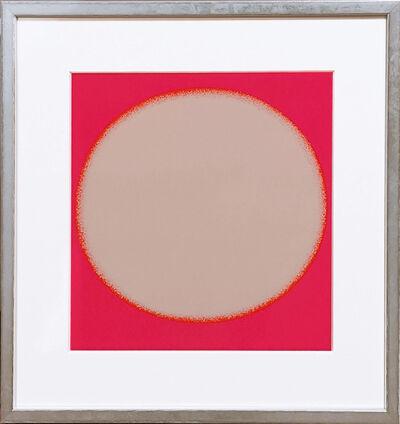 Rupprecht Geiger, 'Kreiskomposition weiss/pink', 1970