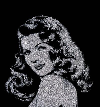 Vik Muniz, 'Rita Hayworth. Pictures of Diamond', 2005