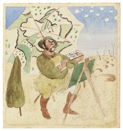 Henry Tonks, 'John Singer Sargent Painting', 1918