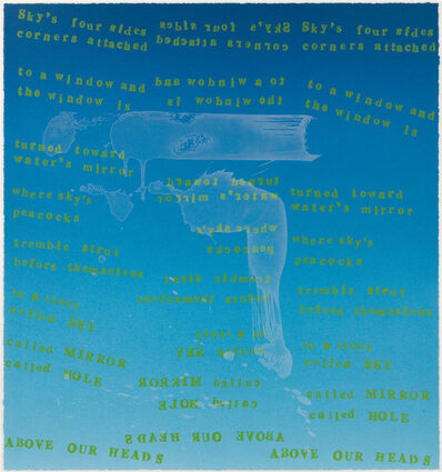 Pat Steir, 'Sky's Four Sides', 2000
