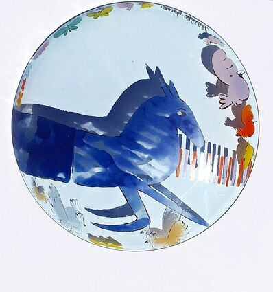 Andy Warhol, 'Vintage Rosenthal Charger Plate (Unicorn)', ca. 1991