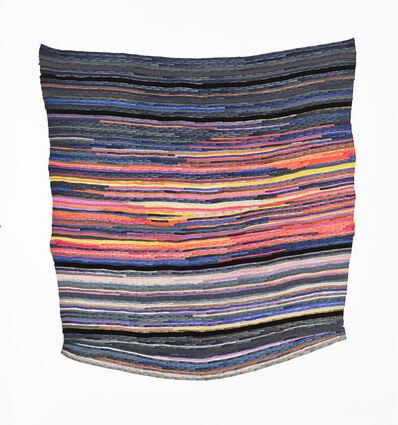 Carly Glovinski, 'Fire Belly Sunset Rag Rug', 2017