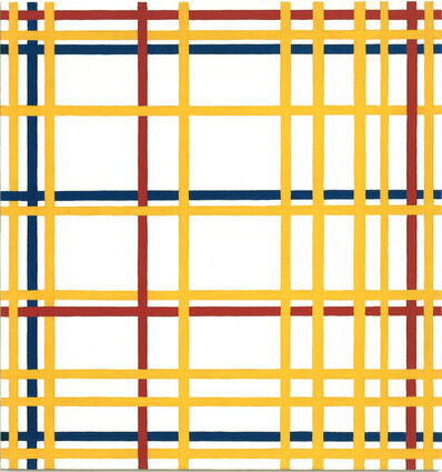 "Richard Pettibone, 'Piet Mondrian, ""New York City"", 1941-42', 1996"