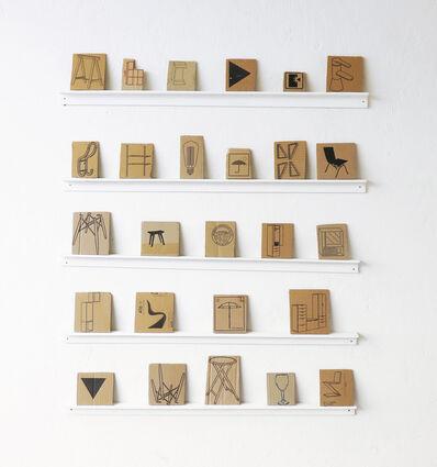 Ignacio Gatica, 'Tipologia Material', 2015