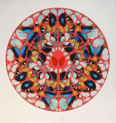 Damien Hirst, 'Psalm print, domine ne in fuore (diamond dust)', 2010