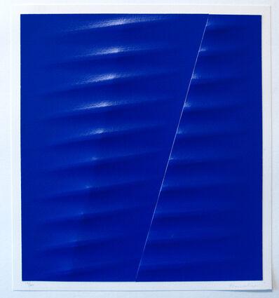 Agostino Bonalumi, 'Blu', 2003