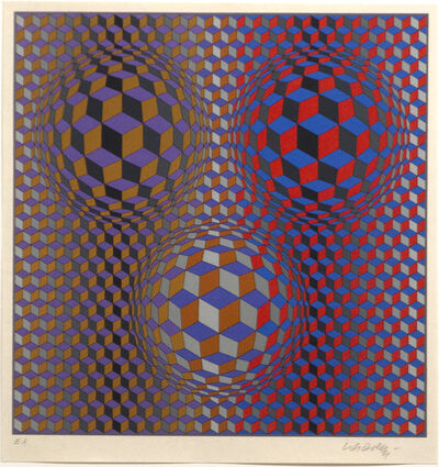 Victor Vasarely, 'Untitled (VV-2)', 2015